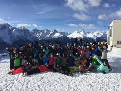 Crew of Snowcamp 2017